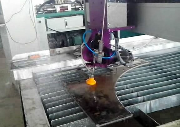 AB type 5 axis Waterjet cutter