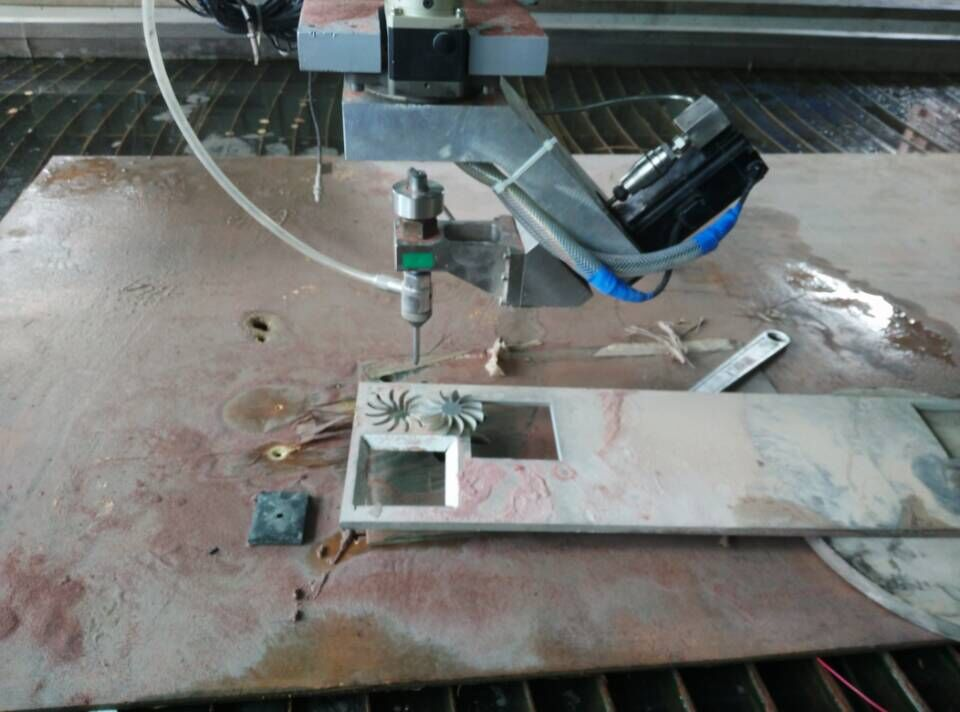 five axis Waterjet cutter