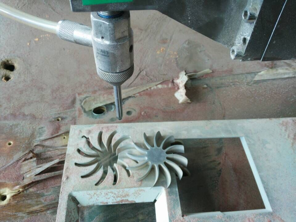 5 axis Waterjet cutting parts